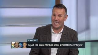 [BREAKING] Lukaku join Milan for €75M; Real Madrid offer Modric & €120M to PSG for Neymar | ESPN FC