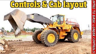 Payloader Controls and operation for the beginner -What its like in the cab.  Heavy equipment Intro