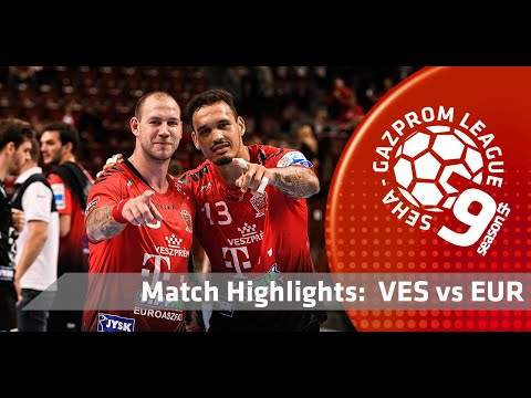 Match highlights: Telekom Veszprem vs Eurofarm Rabotnik