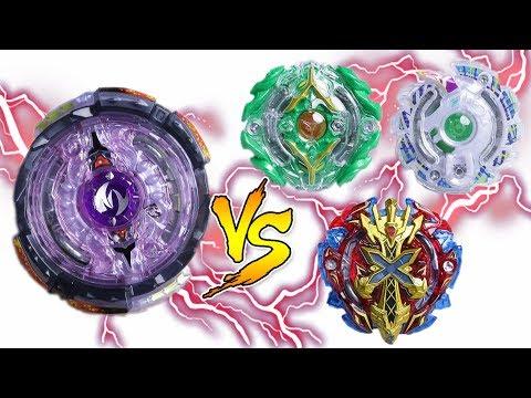 TWIN NEMESIS vs SWORD FLAMES | Beyblade Burst Team Battle ベイブレードバースト
