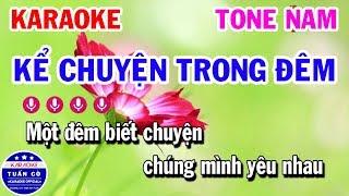 karaoke-ke-chuyen-trong-dem-nhac-song-tone-nam-beat-karaoke-tuan-co