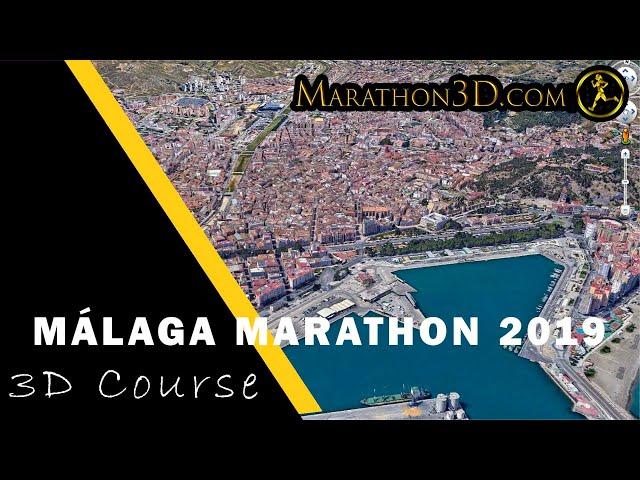 MÁLAGA MARATHON 2019: 3D Course