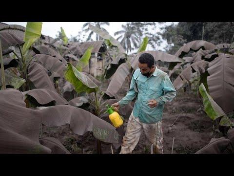 Ιάβα: Κάτω από την ηφαιστειακή τέφρα
