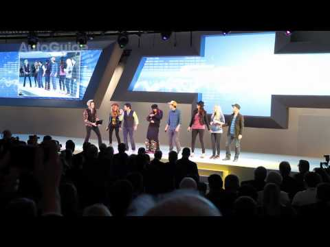 Detroit 2011: Chevrolet Sonic Intro Show and Theme Performed Live