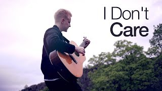 Ed Sheeran & Justin Bieber   I Don't Care | Fingerstyle Guitar Cover