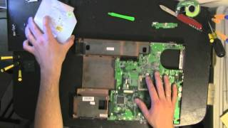 ACER Travelmate 4060  take apart, disassemble, how to open disassembly