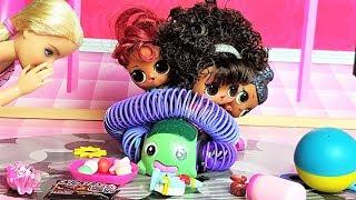 КАК МАМА И КУКЛЫ ЛОЛ ПОРЯДОК НАВОДИЛИ) Куклы ЛОЛ сюрприз #мультики