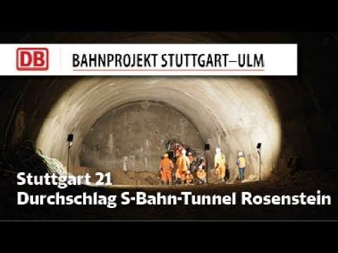 Durchschlag S-Bahn-Tunnel Rosenstein