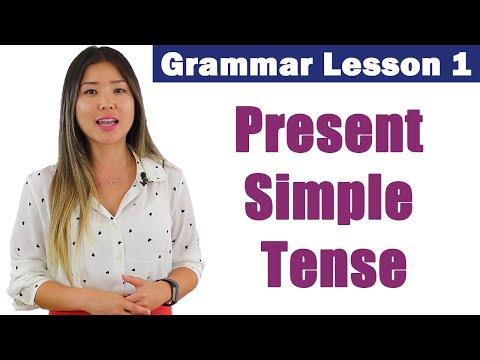 Learn Present Simple Tense | English Grammar Course 1
