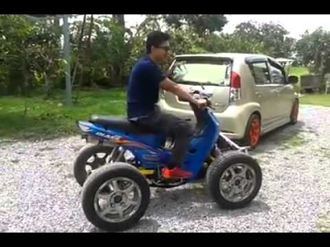 Video ATV Dari Moto  Ex5 Class