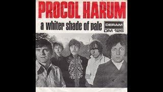 """LIME STREET BLUES""  PROCOL HARUM  DERAM 45 DM 126 P 1967 SWEDEN"
