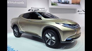 ALL NEW MITSUBISHI CONCEPT GR-HEV BRINGS DIESEL HYBRID NEW BODY