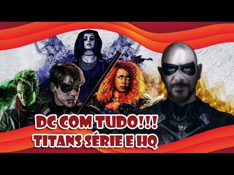 Titãs   Diferenças entre a série e os quadrinhos