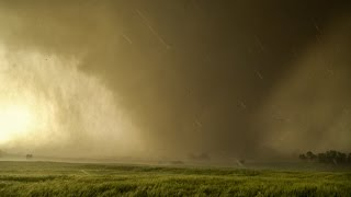 TOO CLOSE TO EF4 TORNADO - Inside Debris Cloud in 4K