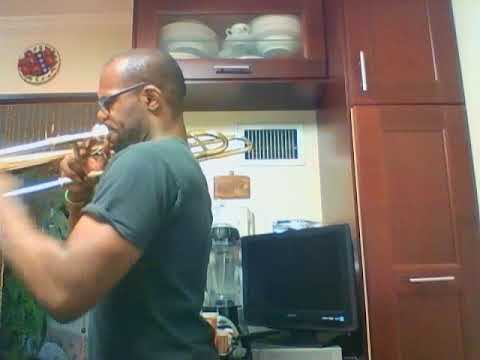 Here is a short clip of me playing trombone.  I will be posting more diverse offerings shortly.
