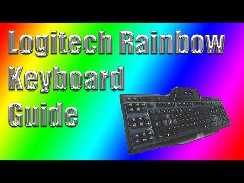 How to Make Logitech G510s/G19 RGB Keyboard Go Rainbow Mode [English]