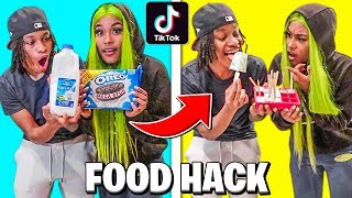 We Tested Viral TikTok FOOD HACKS.... *MIND BLOWING*