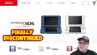 The Nintendo 3DS Has Been Officially Discontinued! 9 Year Run Becoming The 5th Best Selling Handheld