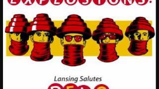 """EXPLOSIONS! Lansing Salutes Devo"" album sampler"
