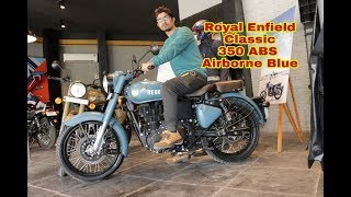 New Royal Enfield Classic 350 ABS Signals Airborne Blue#BPC