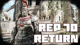 Return To Max Rep   Rep 70 Centurion Duels [For Honor]