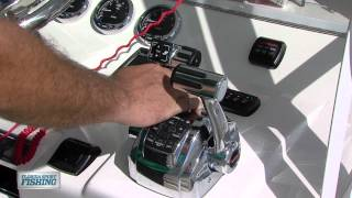 How To Operate Digital Throttle & Shift Controls - Florida Sport Fishing TV - Easy Controls