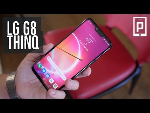LG G8 ThinQ Hands-On: Good and Interesting updates