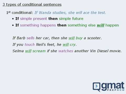 Handling Conditional Sentences on the GMAT