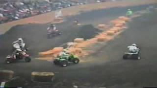 Vintage ATV Racing 3 Wheeler Race Video Cow Palace 1986