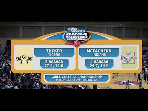6A Girls Tucker vs. McEachern (2016)