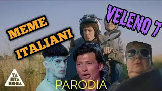"I MEME ITALIANI CANTANO ""VELENO 7"" DI GEMITAIZ E MADMAN (PARODIA)"