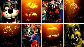 Five Nights at Freddys 6 ALL JUMPSCARES (FNAF 6) | IULITM