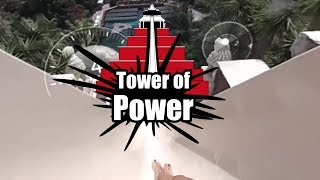 360º VIDEO: Tower of Power | Siam Park  [Extreme Waterslide]