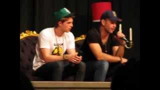 Мэттью Дэвис, Nathaniel Buzolic e Matt Davis - Bloodlines, Brasil