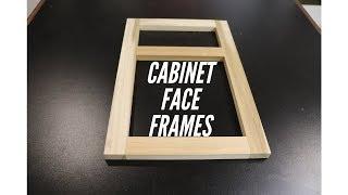 Cabinet Face Frames - Easy