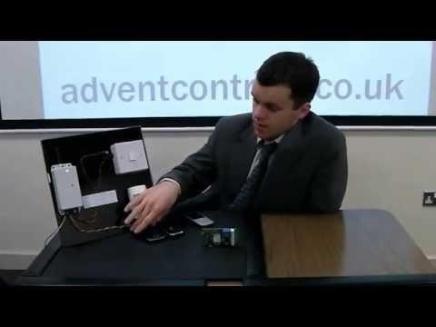 Advent Controls GSM Auto Dialer and SMS Sender for Burglar Alarms