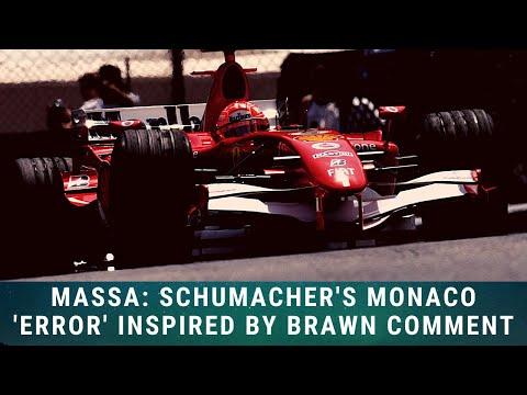 Massa: Schumacher's Monaco 'error' inspired by Ross Brawn comment