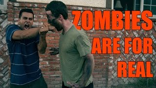 Zombies are for real - David Lopez with Brent Rivera and Cody Johns