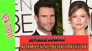 Adam Levine Behati Prinsloo divorce rumors