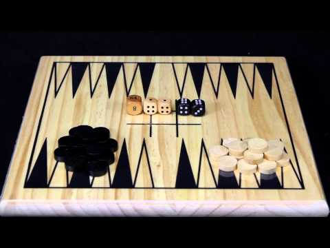 Ideal Game On! Backgammon Game