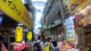大阪DeepSpot鶴橋商店街日本一のコリアタウンの散歩