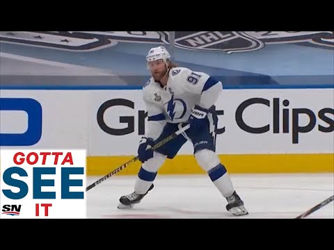 GOTTA SEE IT: Steven Stamkos Scores In Stanley Cup Finals Debut For Lightning