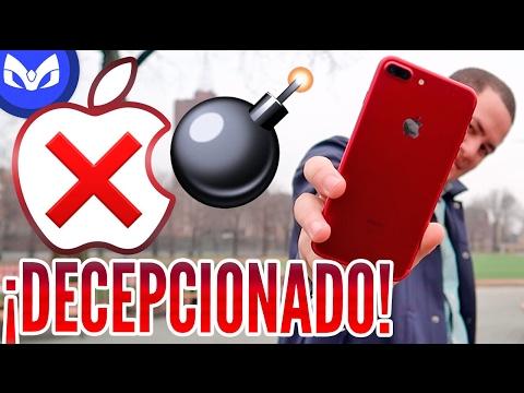 NO COMPRAR iPHONE 7 PLUS (RED) ROJO