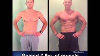 Josh Gained 7 Lbs. Of Muscle With The Beachbody Challenge