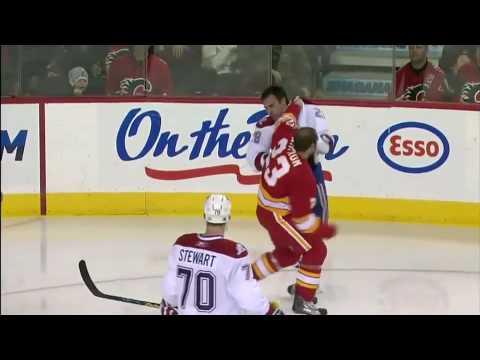 Eric Nystrom vs. Kyle Chipchura