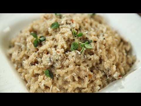 How To Make Mushroom Risotto | Italian Recipe | Perfect Mushroom Risotto | Recipe by Varun Inamdar