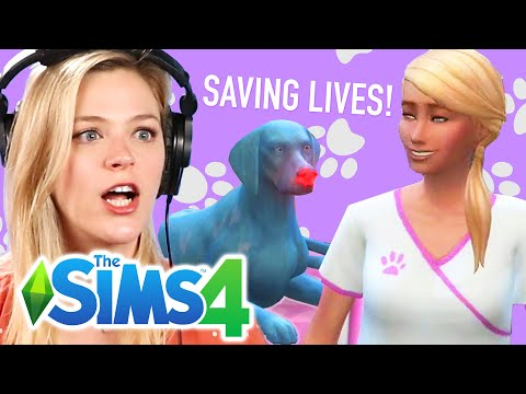Single Girl Saves Dogs Lives In The Sims 4 | Part 2