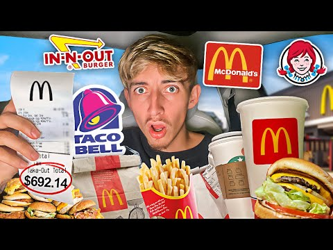 Letting The Person In Front Of Me DECIDE What I EAT for 24 HOURS!!