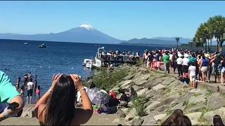 Recopilación Amazing UFO Puerto Varas | Chile | OVNI Febrero 2017