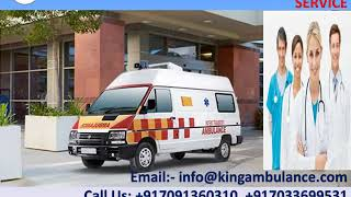Now Pick ICU Setup Ambulance Service in Darbhanga and Gaya by King